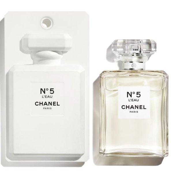 全新5号限定白瓶香水 100ml