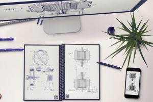 $31.99限今天:Rocketbook  Everlast智能云端可消字笔记本 + 一支笔