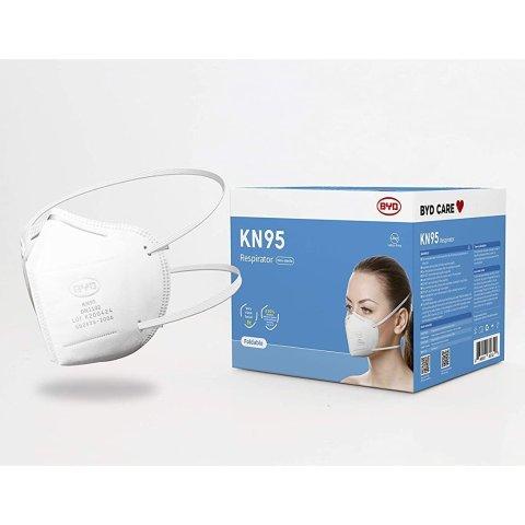低至$12.99BYD 一次性3层口罩、KN95口罩等促销