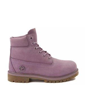 Timberland经典款短靴 香芋紫