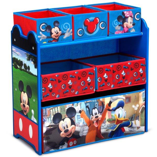 米奇六格儿童玩具储物架