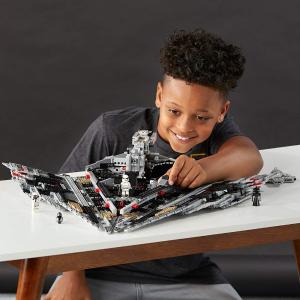 现价 £77.99(原价£129.99)LEGO 乐高 星战系列 75190 第一秩序歼星舰 特卖