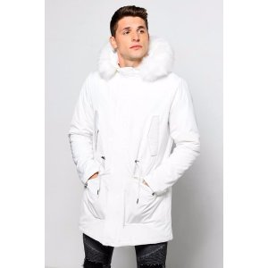 Faux Fur Lined Hooded Parka - boohooMAN