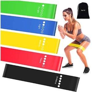 Amazon官网 Renoj健身运动阻力带 5条