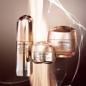 8.5折 + 最高26件好礼即将截止:Shiseido 精选护肤品热卖 收红腰子精华 百优系列