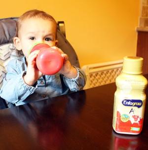 $9.48(原价$13.99)Enfagrow美赞臣 A+ 3段幼儿配方即开即饮配方液体奶 6瓶X237ml