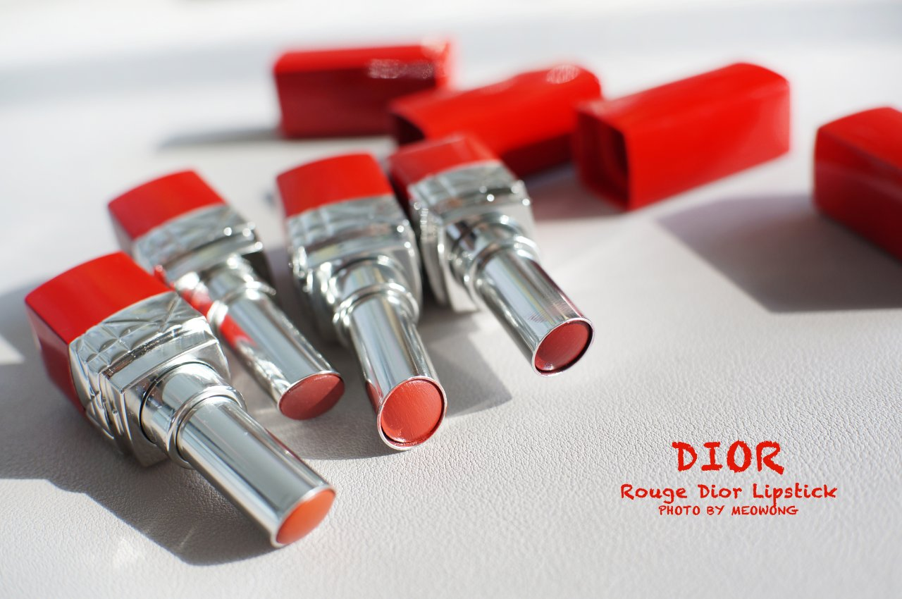 【锤墙推荐】DIOR红管热门色&爱用唇色   试色