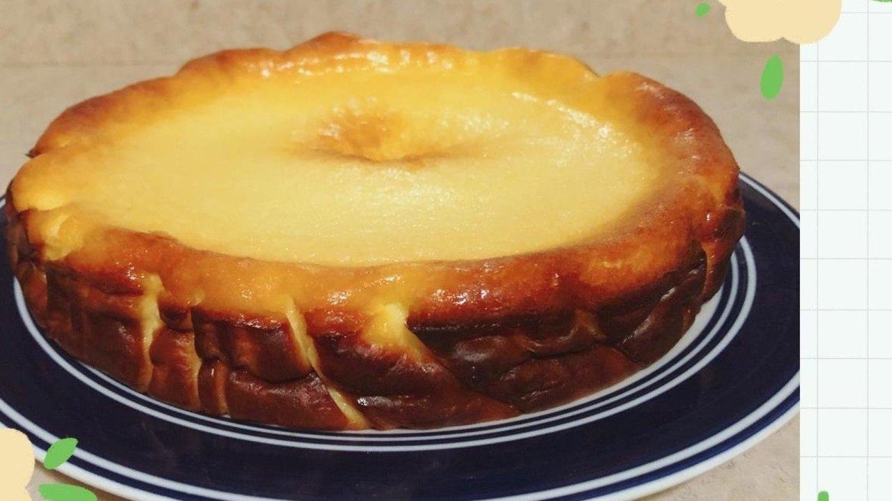 巴斯克焦蛋糕 | 丑萌系芝士蛋糕 烤焦它就对了!