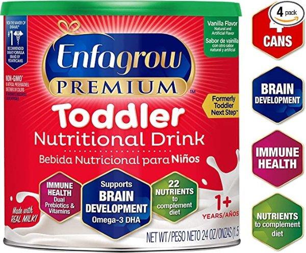 Enfagrow Premium 幼儿奶粉,4罐