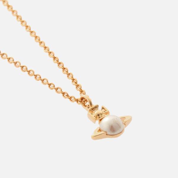小土星珍珠项链