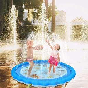 """As low as $9.99Sable Inflatable Pool, 78"""" Outdoor Mermaid Children's Water Pad & More"""