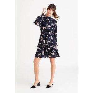 Petite StudioLoretta Dress - Navy Floral