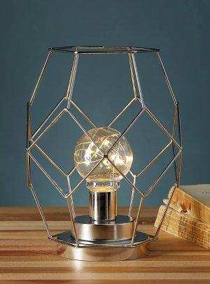 Metallic wire lantern   Simons Maison