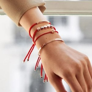 低至5折 友谊钻石手链仅$100提前享:Monica Vinader 年中大促 小红绳、粉晶系列 转运必入
