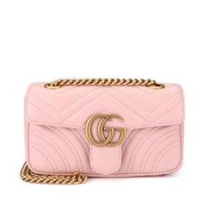 GucciGG Marmont Leather Shoulder Bag