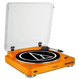 $99(原价$249.95)Audio Technica AT-LP60 全自动黑胶唱机蓝牙版