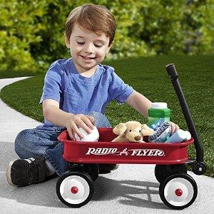 闪购:Radio Flyer 经典款两童小拖车、三轮儿童踏板车等特卖