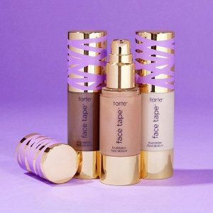 New Arrival!Tarte New Face Tape™ Foundation @ tarte cosmetics