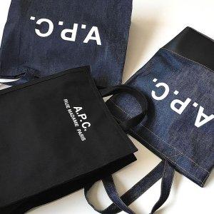 闪促6折!€45就收logoT恤A.P.C. 巴黎小众设计师品牌 性冷淡简约风 美衣、包包都有