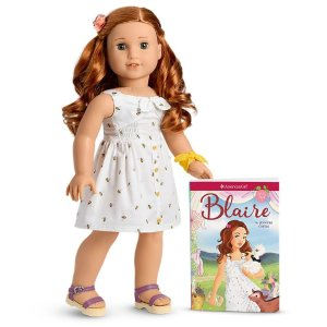 American GirlBlaire™娃娃和书籍