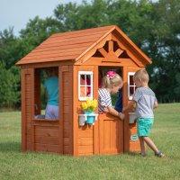 Backyard Discovery Timberlake 雪松木玩具屋