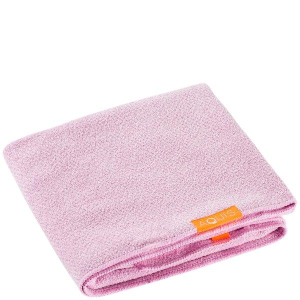 Lisse 粉色干发巾