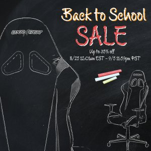 Up to 35% OffDXRacer Back to School Hot Sale