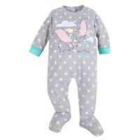 Disney Dumbo 图案婴儿包脚连体服