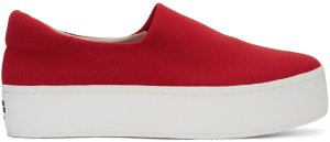 Opening Ceremony: Red Cici Slip-On Sneakers | SSENSE