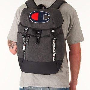 现价$30.00 (原价$70.00)+包邮Champion 男款休闲运动双肩背包