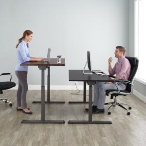Realspace Magellan Pneumatic Stand Up Height-Adjustable Desk