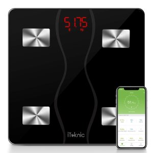 €27.99 (原价€69.99)iTeknic 智能蓝牙体脂秤 时刻掌握你的健康指数