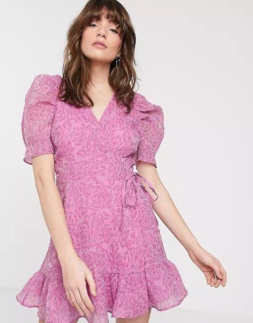刺绣茶歇裙