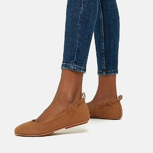 FitFlop$30 off $150Suede Ballet Flats