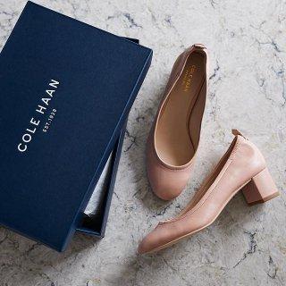 低至5折+额外7折Cole Haan 精选舒适女鞋热卖
