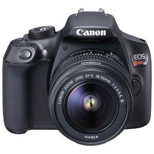 $299.99(原价$599.98)Canon EOS Rebel T6套装(EF-S 18-55mm+75-300mm)官方翻新