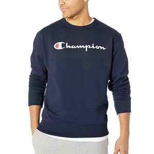 $15.93(原价$40.00)Champion 大Logo款男子休闲运动卫衣