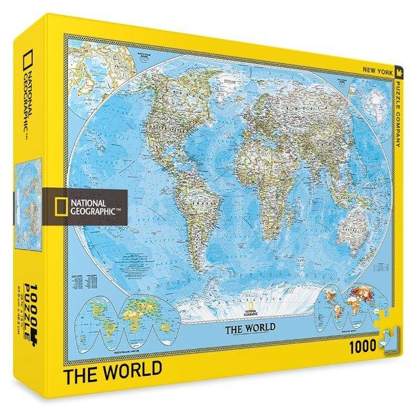 The World 地图拼图