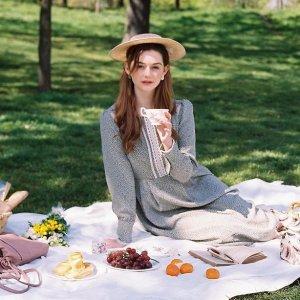 低至4折+满减£60 £59收格纹连衣裙Miss Patina 连衣裙专场大促 春夏新款 穿上就是人间绝绝子