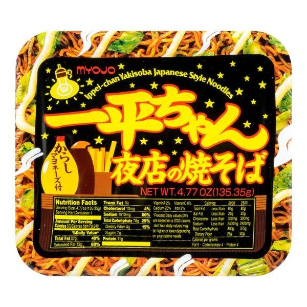 一平酱 夜店炒面 芥末蛋黄酱味 134g