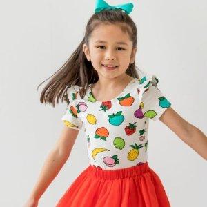 低至4折+ 裙子短袖短裤$9.99起Hanna Andersson 年中大促 精选童装周末特价放送