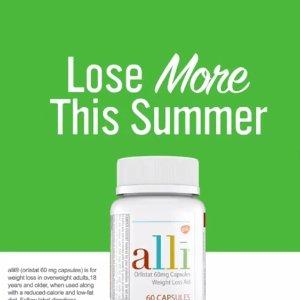 $155包邮 120粒 美国FDA认证Generic Alli 排油减脂丸 瘦身纤体 减肥神器