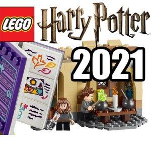 2021年新品先睹为快预告:Lego 将在2021年上线哈利波特Technic Arts系列、迪士尼