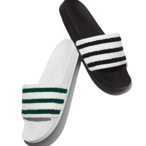 Dal 24 adilette a strisce adidas slide sandalo @ neiman marcus dealmoon