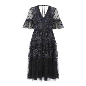 NEEDLE & THREAD黑色蕾丝裙