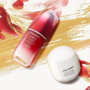 低至5.2折+额外5.8折起牛年大吉:Shiseido 全线热卖 红腰子套装€122 红色蜜露€61