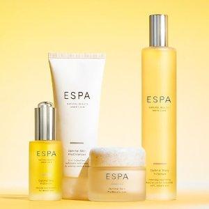 首单85折 或 满£70送£35四件套ESPA全站护肤热卖 高端SPA品牌温和护肤