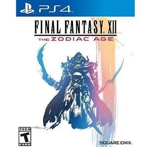 $14.88(原价$19.99)《最终幻想12 黄道年代》PS4 实体版