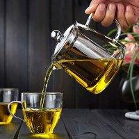 OBOR 精致玻璃滤茶壶,带茶滤,450ml