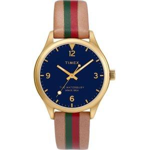 Timex平价GucciWaterbury 经典手表